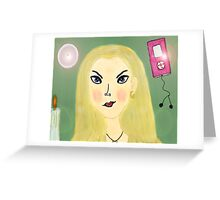 Update Me Now Greeting Card