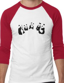 PANDA t-shirt Men's Baseball ¾ T-Shirt