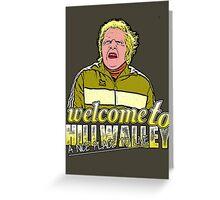 Biff Tannen, Hill Valley Greeting Card