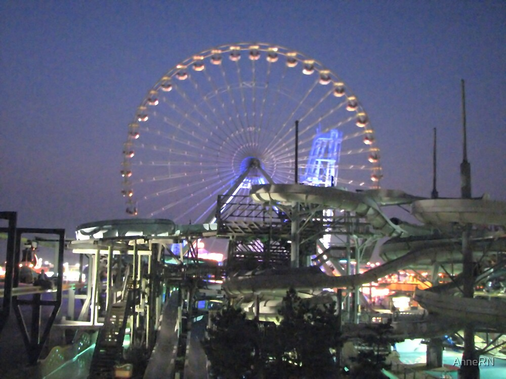 Wildwood Ferris Wheel by AnneRN
