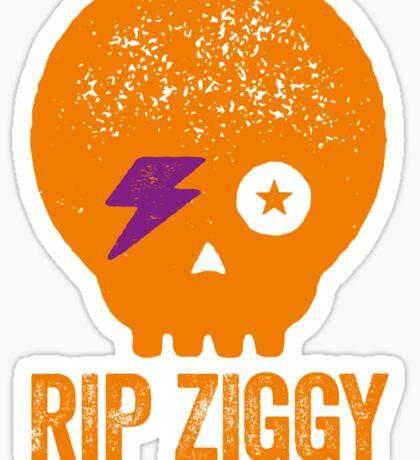 RIP ZIGGY - REST IN PEACE ZIGGY STARDUST Sticker