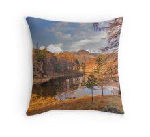 Autumn at Blea Tarn Throw Pillow