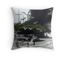 Water way moment Throw Pillow