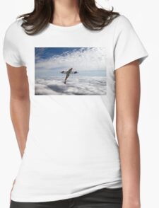 Slipping the surly bonds Womens Fitted T-Shirt
