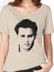 johnny depp t-shirt Women's Relaxed Fit T-Shirt
