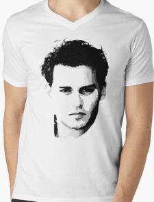 johnny depp t-shirt Mens V-Neck T-Shirt
