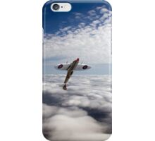 Slipping the surly bonds poster version iPhone Case/Skin