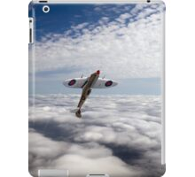 Slipping the surly bonds poster version iPad Case/Skin