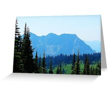 Mountain Scene 538 Greeting Card