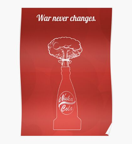Fallout - War Never Changes Poster