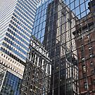 Skyscraper Reflections - New York City by Hilda Rytteke