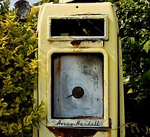 Vintage Gas Pump by Rob Corbett