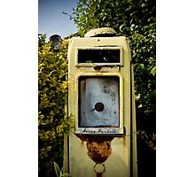 Vintage Gas Pump Photographic Print