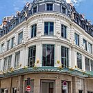 Le Bon Marche, Paris, France by Elaine Teague