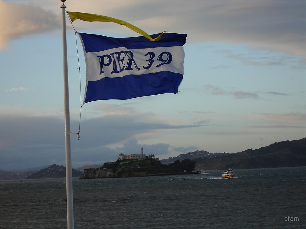 Pier 39 and Alcatraz by cfam