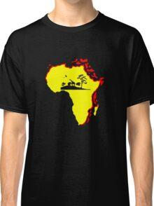 african sunrise t-shirt Classic T-Shirt