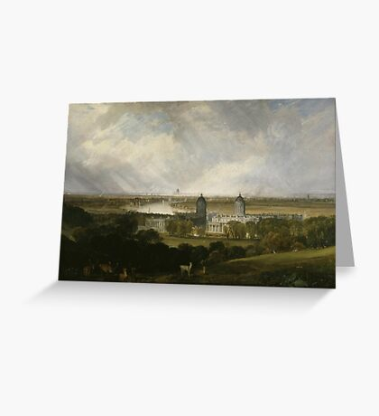 Joseph Mallord William Turner    London from Greenwich Park Greeting Card