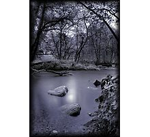 The stream Photographic Print