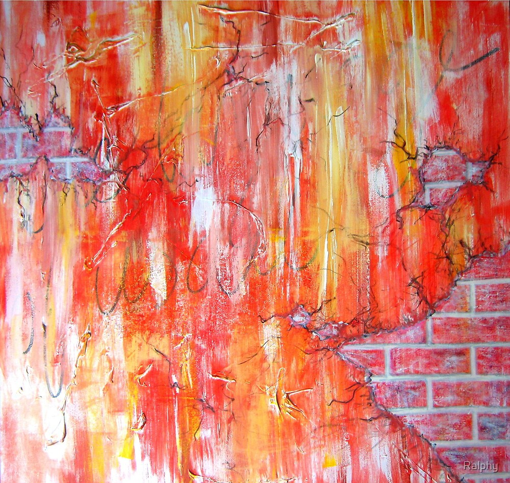 Red Brick Wall by Ralphy