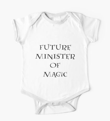 Future Minister of Magic One Piece - Short Sleeve