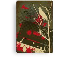 eagle cassette Canvas Print