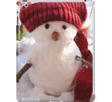 snowman. Christmas iPad Case/Skin