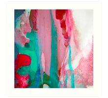 7 DAY'S OF SUMMER-FLOW / ART & PILLOW Art Print