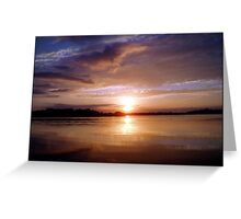 Luminescence Greeting Card
