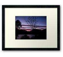 Perfect End Framed Print