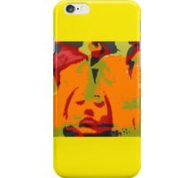 A Mexican Girl in a frame  iPhone Case/Skin