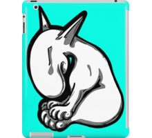 Shy English Bull Terrier  iPad Case/Skin