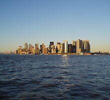 NYC Sky Line by Robert Phelps