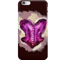 Overbust Magenta  iPhone Case/Skin