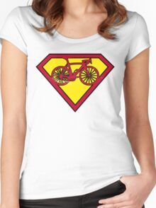 SuperBike Logo Women's Fitted Scoop T-Shirt