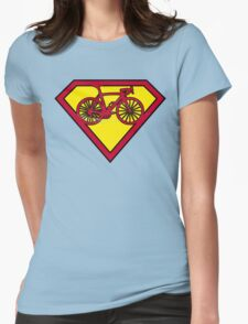 SuperBike Logo Womens Fitted T-Shirt