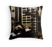 Some unspecified place for a future where nothing is certain. Throw Pillow