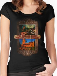 The Kinks - Village Green Preservation Society Women's Fitted Scoop T-Shirt