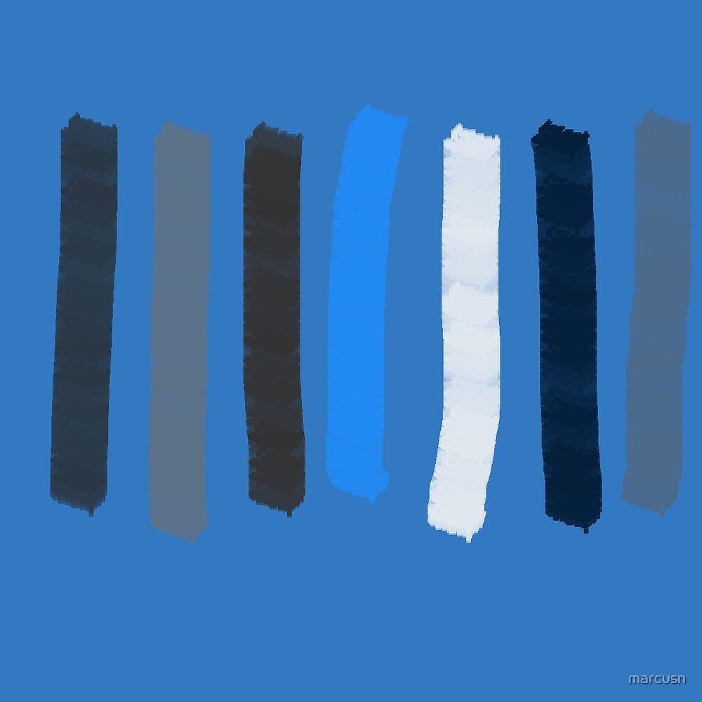 Blue Lines by marcusn