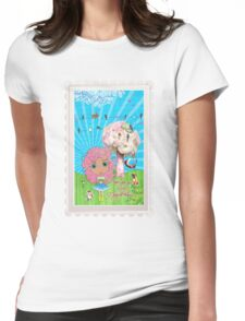 Daydreams Really Do Come True - Light Pink Hair Version Womens Fitted T-Shirt
