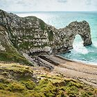 Durdle Door, Dorset, England by Jim Lovell
