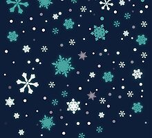 snow flakes by Fledermaus