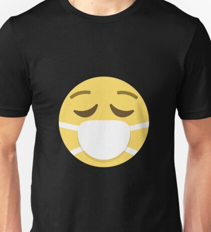 Face with medical mask Unisex T-Shirt