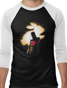 The Black Knight Rises Men's Baseball ¾ T-Shirt