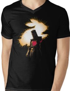 The Black Knight Rises Mens V-Neck T-Shirt