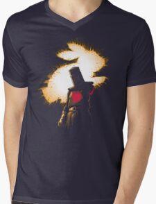 The Black Knight Rises Mens V-Neck T-Shirt