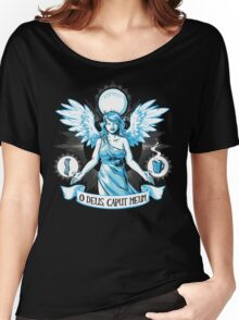 The Angel of Hangovers Women's Relaxed Fit T-Shirt