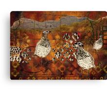 Partridge Family Canvas Print