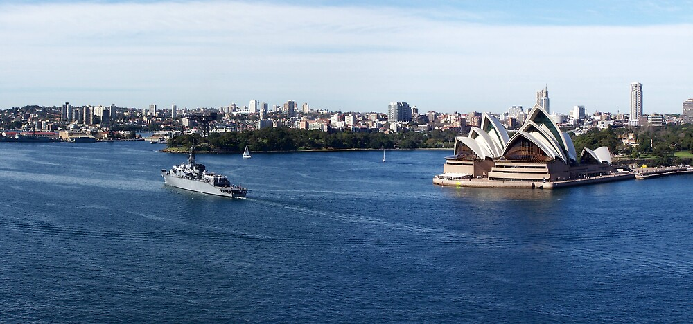 Sydney Harbour by aperture
