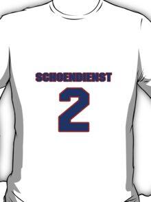 National baseball player Red Schoendienst jersey 2 T-Shirt