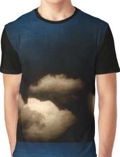 Clouds in a scratched darkness Graphic T-Shirt